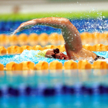 Swimmer's shoulder action